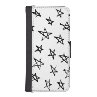 Scribble Stars iPhone SE/5/5s Wallet