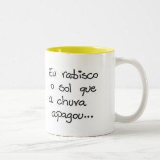 Scribble the Sun Two-Tone Coffee Mug