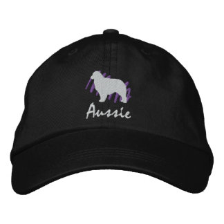 Scribbled Aussie Embroidered Baseball Cap