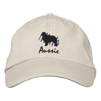 Scribbled Aussie Embroidered Baseball Hat