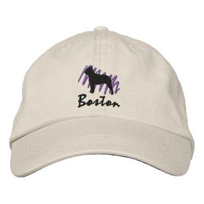 Scribbled Boston Cap