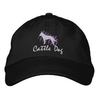 Scribbled Cattle Dog Cap