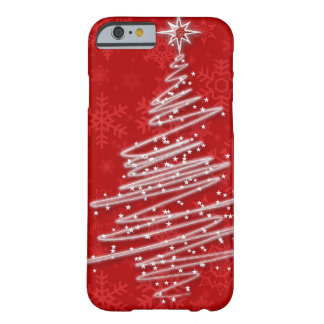 Scribbled Christmas Tree iPhone 6 Case