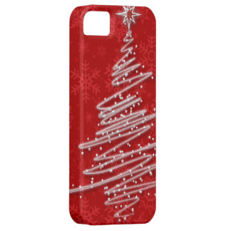 Scribbled Christmas Tree iPhone SE/5/5s Case