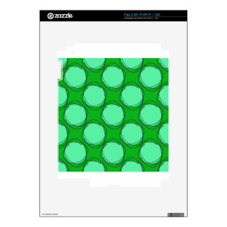 Scribbled Colorful Polka Dot Seamless Pattern Decal For iPad 2