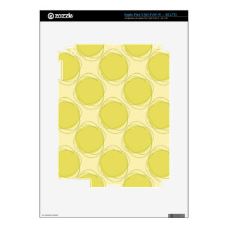 Scribbled Colorful Polka Dot Seamless Pattern iPad 3 Skin