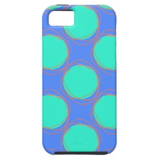 Scribbled Colorful Polka Dot Seamless Pattern iPhone 5 Cover