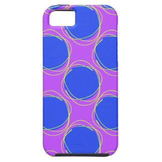 Scribbled Colorful Polka Dot Seamless Pattern iPhone 5 Covers