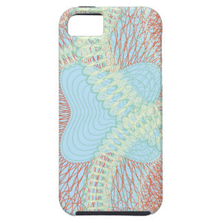 Scribbled Design bluesy iPhone 5 Covers