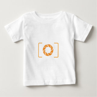 Scribbled photography aperture baby T-Shirt