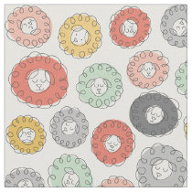 Scribbled Sheep Fabric