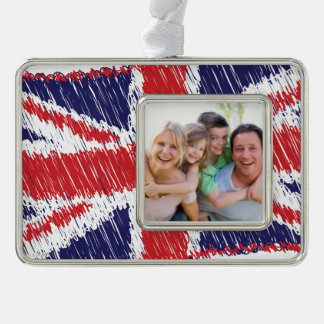 Scribbled Union Flag Ornament