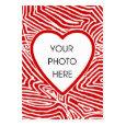 Scribbleprint Heart Photo Card Business Card Templates