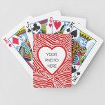 Scribbleprint Heart Photo Frame Card Decks