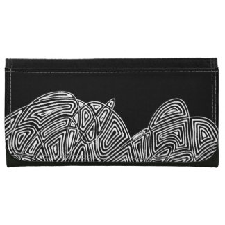 Scribbleprint Wallet