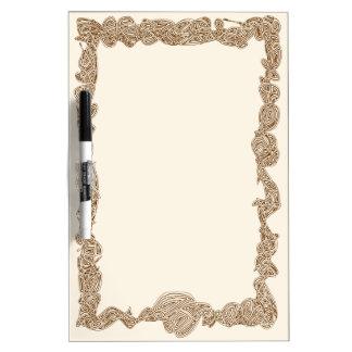 Scribbleprints Border Dry Erase Boards