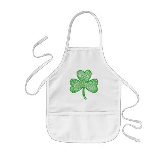 Scribbleprints Clover Kids' Apron