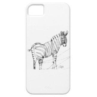 Scribbler Zebra iPhone SE/5/5s Case