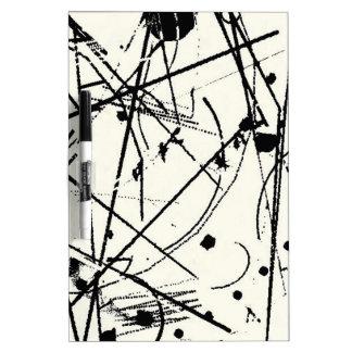 Scribbles BW Dry-Erase Board