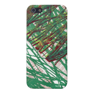 Scribbles Chaos Print Cover For iPhone SE/5/5s