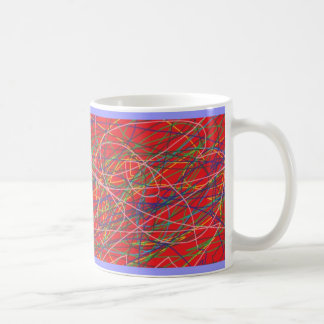scribbles classic white coffee mug