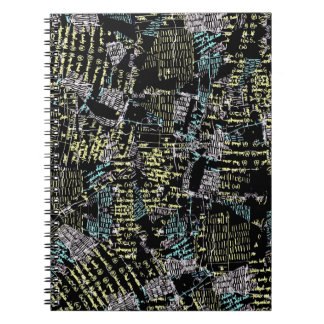 Scribbles Collage Notebook