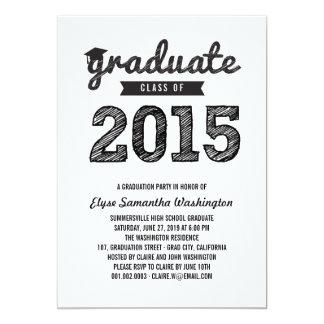 Scribbles Graduate Class Of 2015 Grad Party Invite