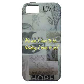 Scribbles, motivation and memories... iPhone SE/5/5s case