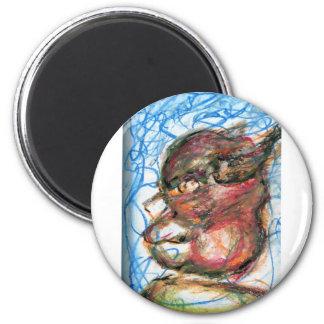 Scribbles of Meditation Magnet