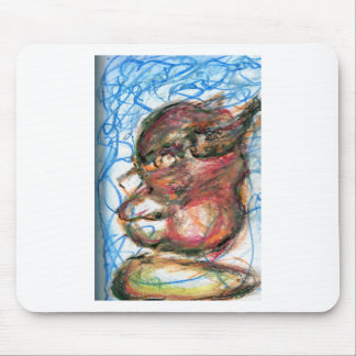 Scribbles of Meditation Mouse Pad