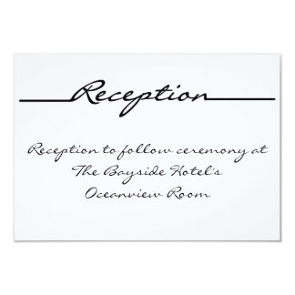 """Scribbles"" Reception Cards"