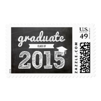 Scribbles Sketch Graduate Class Of 2015 Postage