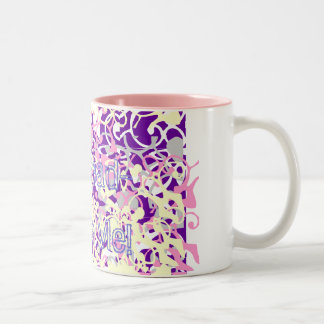 Scribbles! Two-Tone Coffee Mug