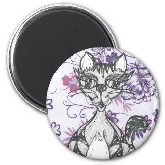 Scribby Cat 06 Magnet