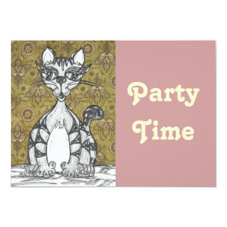 Scribby Cat 4 Card
