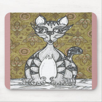 Scribby Cat 4 Mouse Pads