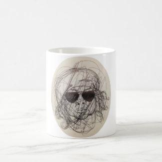scribbymom coffee cup classic white coffee mug
