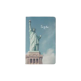 Scribe Lady Liberty Pocket Moleskine Notebook