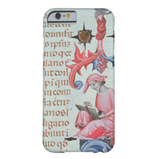 Scribe or chronicler, possibly a self portrait of barely there iPhone 6 case