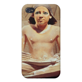 Scribe seated cross-legged iPhone 4 cover