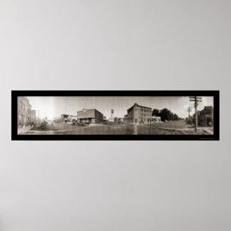 Scribner NE Panoramic Photo 1908 Posters