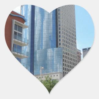 Scripps Center in Cincinnati, Ohio Heart Sticker