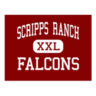 Scripps Ranch - Falcons - High - San Diego Postcard