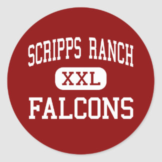 Scripps Ranch - Falcons - High - San Diego Stickers