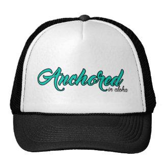 Script Anchored Trucker Hat