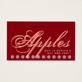 script APPLE customer loyalty card