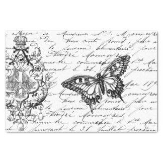 "Script Ephemera Tissue 10"" X 15"" Tissue Paper"