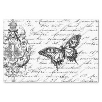 Script Ephemera Tissue Tissue Paper
