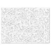 Script Love Tissue Paper