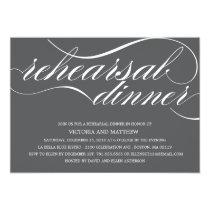 SCRIPT | REHEARSAL DINNER INVITATION
